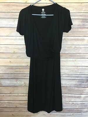 Kindred Bravely The Angelina Nursing Maternity Nightgown Or Dress Black Size M