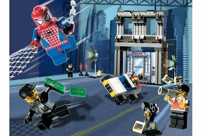 Lego 1376 SPIDER-MAN ACTION STUDIO w/Instructions NO CD