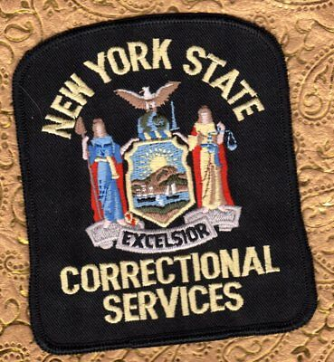 New York State Correctional Services Patch  FREE USA SHIPPING