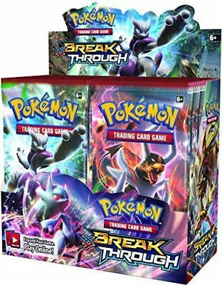 XY Breakthrough 6 Booster Pack Lot 1/6 Booster Box POKEMON TCG Free Shipping