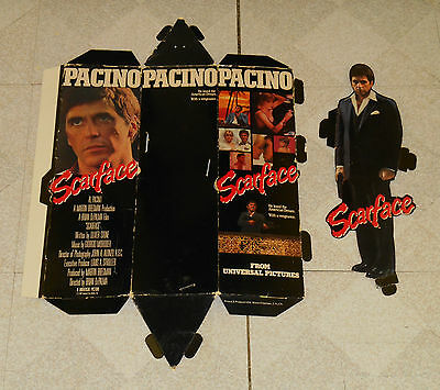 vintage SCARFACE video store hanging display standee Al Pacino