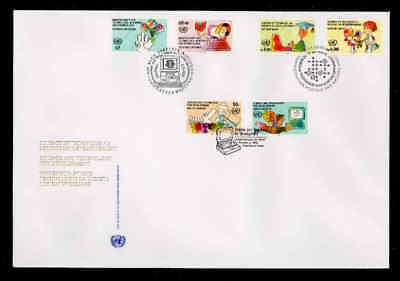 Courier Fdc - 1992 Science And Technology, Unpa Cachet