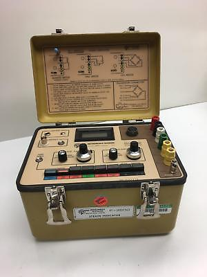 Vishay Measurements Group Strain Indicator P-3500