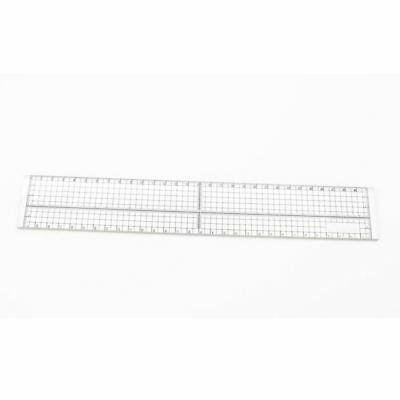 30cm DIY Sewing Patchwork Foot Aligned Ruler Quilting Grid Cutting Tailor C K6G8