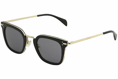 Celine Women's CL 41402S 41402/S ANW/G8 Black/Gold Square Sunglasses 47mm