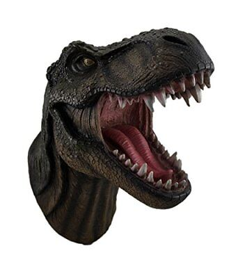 """Jurassic King"" T-Rex Head Wall Mount Prehistoric Dinosaurs Animals Collectibles"