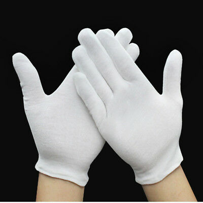 New Dermatological 100% Cotton Gloves Dry Skin Eczema Ointments Cream Absorption