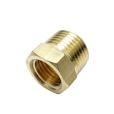 "1/4"" Male bspt * 1/8"" Female NPT Brass Reducing Bushing BSP To American Adapter"