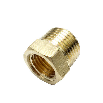 "3/8"" Male bsp* 1/8"" Female NPT Brass Reducing Bushing BSP To American Adapter"