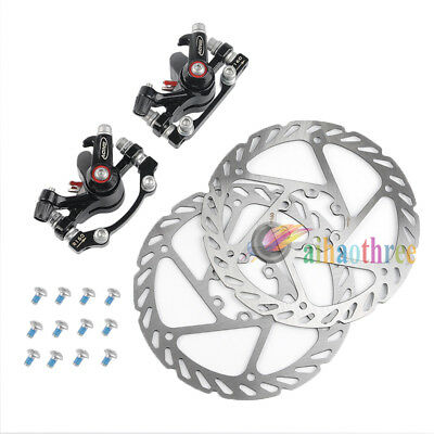 MTB Road Bike Bicycle Mechanical Disc Brake Caliper With Lock 160mm Rotor【AU】