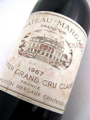 1967 CHATEAU MARGAUX 1er Cru Classe Red Bordeaux Isle of Wine