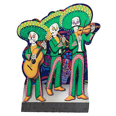 MARIACHI BAND Day of the Dead CARDBOARD CUTOUT Standup Standee Poster FREE SHIP