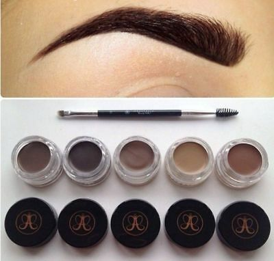 New Anastasia Beverly Hills Dipbrow Pomade with FREE Duo Brush #12 *UK SELLER*