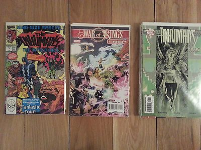 The Inhumans 19 Comic LOT Marvel FREE S&H