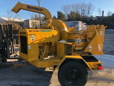 Vermeer Wood Chipper Brush Bc 1250