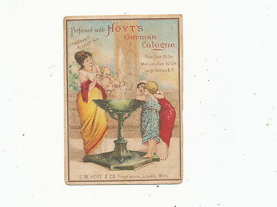 C7471    Victorian Trade Card  Hoyts German Cologne Variety