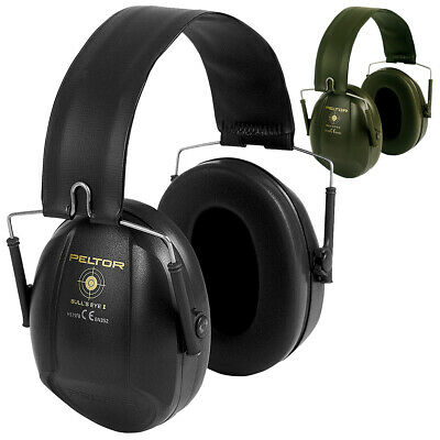 3M Peltor Bullseye I Ear Defenders Muffs Military Shooting Hearing Protection