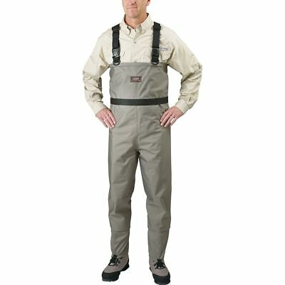 Caddis Men's Breathable Stockingfoot Chest Waders CA9902 Stout Tan - CHOOSE SIZE