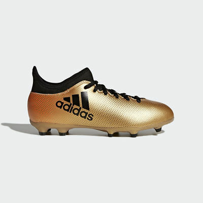 59872dffa ADIDAS KIDS JR. X 17.3 FG Cleat (Tactile Gold Core Black Solar Red ...
