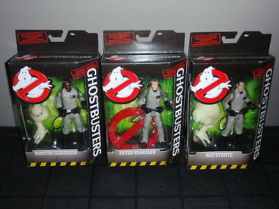 "Ghostbusters Classic 6"" Figures Lot of 3 2016 MATTEL New Sealed"