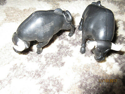 Lot Of 2: Burger King : Bull Action Figure Toys: 2000