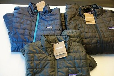 $199 NWT Patagonia M's Nano Puff Jacket All Colors Sz S M L XL