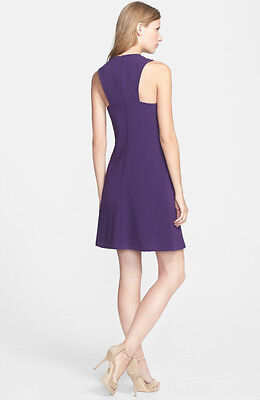 8874e01c8ce NWT!  268 TRINA TURK PLUM LYSETT RACERBACK SWING SHIFT DRESS Size 8 ...