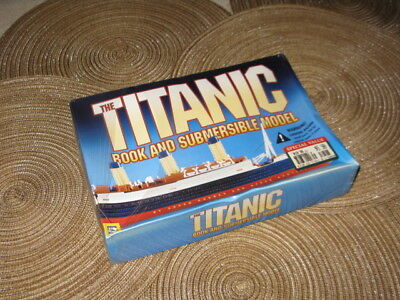 THE TITANIC BOOK AND SUBMERSIBLE MODEL By Susan Hughes and Steve Santini RARE