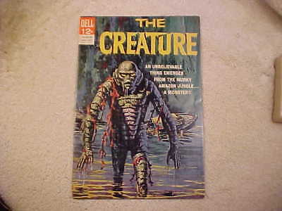 The Creature #1 Comic Book - 1964 Dell - Creature From The Black Lagoon- Vintage