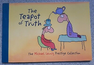 1998 The Teapot of Truth - Prestige Stamp Booklet