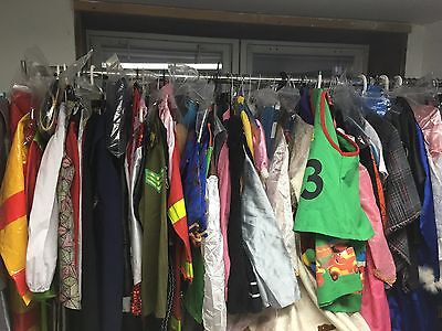 LOT of 15-20 Assorted Costumes Boys Girls Adult Very Good Condition Dress Up