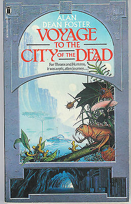 Alan Dean Foster - Voyage to the City of the Dead - 1986 p/b