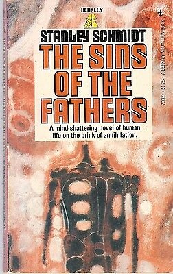 Stanley Schmidt - The Sins of the Fathers - 1976 p/b