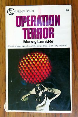 Murray Leinster - Operation Terror - 1968 p/b