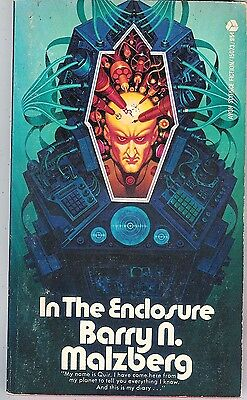Barry N. Malzberg - In the Enclosure - 1973 p/b