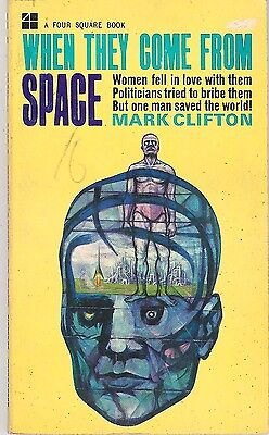 Mark Clifton - When they Come from Space - 1964 p/b