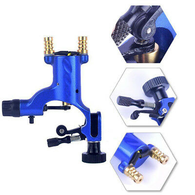 New Rotary Tattoo Machine Guns Dragonfly Shader Liner for Kit Needle Ink Blue