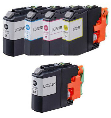 5 Compatible LC223 ink for Brother MFC-J4625DW MFC-J480DW MFC-J5320DW MFC-J5620D