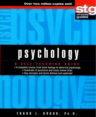Psychology A Self Teaching Guide - Frank J. Bruno