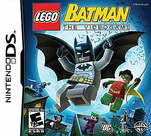 LEGO Batman: The Videogame (Nintendo DS, 2008) COMPLETE: CASE, BOOK AND GAME