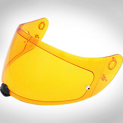 HJC HJ-20M Amber Shield Visor for FG-17 IS-17 FG-ST RPHA ST R-PHA RPHAST Orange