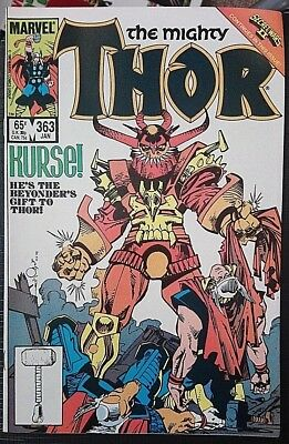 The Mighty Thor # 363 (Volume 1), Classic Simonson Run,high Grade
