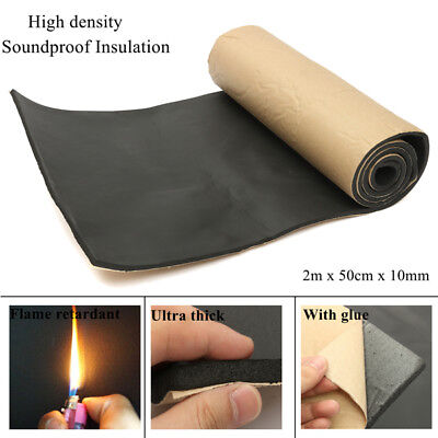 High Density Soundproof Insulation Thermal Closed Cell Foam Waterproof 2x0.5m