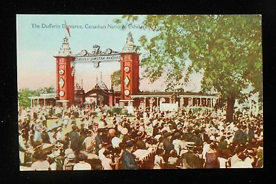 1910s Dufferin Entrance Canadian National Exhibition Toronto ON Canada Postcard