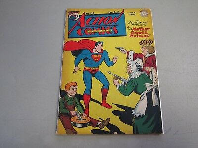 Action Comics #110 COMIC BOOK 1947