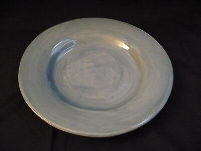 "Pottery Barn  Dinner Plate  12""  Microwave  Dishwasher Safe  Sapphire Blue"
