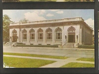 Vintage Postcard U.s. Government Post Office Connersville Ind In Indiana