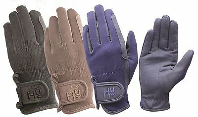 Hy5 Every Day Equestrian Horse Riding Gloves 3 Colours Size XS-XL 10473P