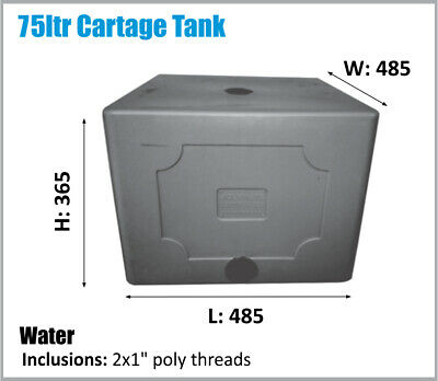 Water Tank. 80Ltr. Potable Water. Ask For Freight Price.