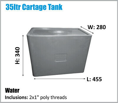 35Ltr. Aussie Made For Drinking Water Potable Water. Ask For Freight Price.